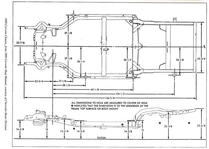 diagram of a 2003 mustang frame